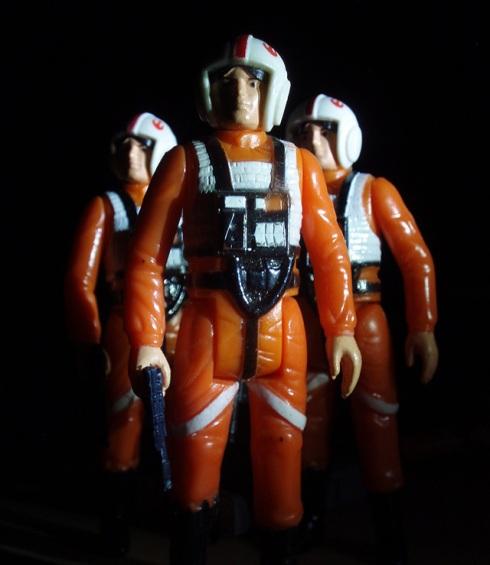 Skywalker X-wing Skywalker in His X-wing